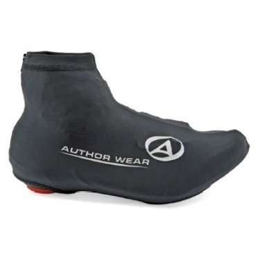 Защита обуви 8-7202030 Lycra S/M р-р 39-42 черная AUTHORВелообувь<br>мембрана LYCRA, облегченная модель, универсальные, застежка молния, для всех типов педалей, светоотражающие элементы для дополнительной безопасности, блистер<br>