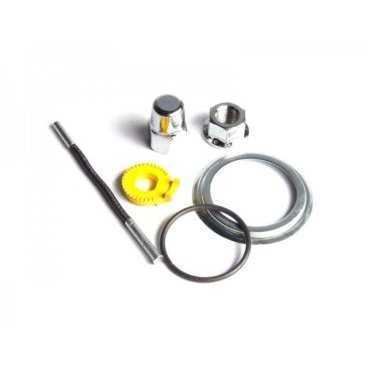 Запчасти Shimano к планетарной втулке для SG-3D55, штырек, гайки ASM3D558CL010 2-3014Втулки для велосипеда<br>Комплект установочный для Shimano SG-3D55, штырек:90.75мм, стопорные шайбы под вертикальные дропауты, гайки, пыльник<br>