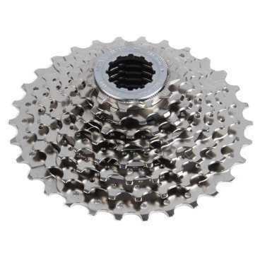 Кассета велосипедная Shimano Alivio HG50, 8 скоростей, 11-32, никелированная ECSHG508132P 2-4085Кассеты<br>Кассета, HG50<br>8 скоростей,<br>звезды 11-32, <br>никелированная.<br>