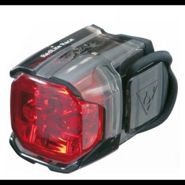 Фара задняя TOPEAK Redlite Race. TMS066Фары и фонари для велосипеда<br>Фара задняя TOPEAK Redlite Race<br>Габаритный фонарик с 2 яркими светодиодами и удобным эластичным креплением. Водостойкий<br>Артикул TMS066<br>