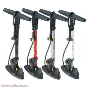 Насос напольный TOPEAK Joeblow Max HP Floor Pump (Красный цвет, TJB-M2R)Велосипедный насос<br>Напольный насос Topeak JoeBlow Max HP Silver с манометром в стальном корпусе, имеет широкую ручку, максимальное давление 160 psi. Три типа ниппеля - AV/SV/DV. Двойной клапан. <br>Характеристики насоса:<br>-Материал : сталь/пластик<br>-Манометр : аналоговый<br>-Максимальное давление : 160 psi/11 bar/11 ат<br>-Надежный двухсторонний клапан совместим со всеми ниппелями без специальной настройки<br>-Клапан: TwinHead™ - двусторонний клапан. С одной стороны вело ниппель (Presta), а с другой - авто ниппель (Shrader). Очень надежная и простая в использовании система<br>-Широкая пластиковая ручка с резиновыми вставками<br>-Длинный шланг<br>-Имеет держатель для шланга<br>-Большое основание из композита обеспечивает устойчивость<br>-Размер : 12.7 х 24 х 67.5 см<br>-Цвет: красный <br>-Вес : 1.39 кг<br>-Дополнительно: в комплекте иголка для мяча, переходник для накачки мячей для фитнеса, шариков и т.д.<br>