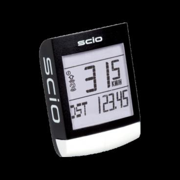 Велокомпьютер PRO SCIO ANT, беспроводной, Di2 инфо.,черный (PRCC0033)Велокомпьютеры<br>Велокомпьютер PRO SCIO ANT+, беспровод., черный <br>Этот современный велокомпьютер не только измеряет скорость движения велосипеда, но и предлагает ряд дополнительных возможностей. На основе полученных компьютером данных вы сможете определить время замены изнашивающихся компонентов и тем самым всегда поддерживать свой велосипед в порядке. Вся полученная информация отображается на четком дисплее. Велокомпьютер будет особенно полезен любителям, которые решили совершенствоваться и устанавливать новые рекорды.<br>Устройство выполняет множество различных функций. Крепится к рулю или выносу. Компьютер определяет текущую, среднюю и максимальную скорость. На основе получаенных показателей он предоставит Вам информацию о протяженности поездки и времени в пути. Полностью заменит часы, а также произведет замер температуры окружающей среды.<br>Компьюетр беспроводной, что гарантирует максимальное удобство и работоспособность.<br>Вес: 38 грамм<br>