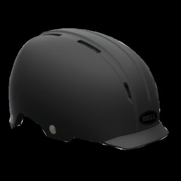 Велошлем Bell INTERSECT ретро дизайн M(55-59см) черный матовый BE7046570Велошлемы<br>Велошлем Bell Intersect <br>С виду ретро, но внутри абсолютно новый и технологичный Intersect. Сочетает в себе преимущества городского шлема и отличный дизайн.<br>Для большей безопасности на дороге в Intesect добавили крепление для габаритного света. Поролоновый наполнитель EPS разделен на сегменты и скреплен с усиленным каркасом. Пластиковый корпус ABS гнется и обеспечивает комфортную посадку .<br>Жесткий пластиковый корпус ABS <br>Крепление для габаритного света на задней части <br>Съемный козырек Friction Fit <br>Сегментированная подкладка EPS <br>Количество вентиляционных отверстий: 9 <br>Вес: 450 грамм.<br>Размер M (55-59см)<br>Цвет: черный матовый<br>Артикул BE7046570<br>