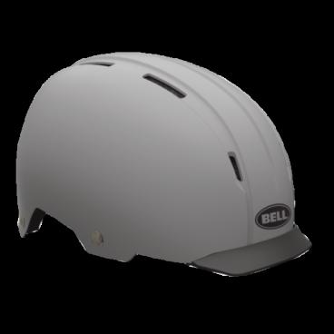 Велошлем Bell INTERSECT ретро дизайн L(58-62см) серый(грунтовка) BE7046589Велошлемы<br>Велошлем Bell Intersect <br>С виду ретро, но внутри абсолютно новый и технологичный Intersect. Сочетает в себе преимущества городского шлема и отличный дизайн.<br>Для большей безопасности на дороге в Intesect добавили крепление для габаритного света. Поролоновый наполнитель EPS разделен на сегменты и скреплен с усиленным каркасом. Пластиковый корпус ABS гнется и обеспечивает комфортную посадку .<br>Жесткий пластиковый корпус ABS <br>Крепление для габаритного света на задней части <br>Съемный козырек Friction Fit <br>Сегментированная подкладка EPS <br>Количество вентиляционных отверстий: 9 <br>Вес: 450 грамм.<br>Размер L (58- 62см)<br>Цвет: матовый серый (грунтовка)<br>Артикул BE7046589<br>