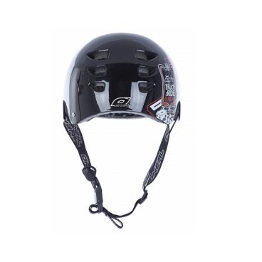 Шлем ONeal Dirt Lid Fidlock ProFit Junkle (Цвет Black, 0580J-104)Велошлемы<br>14 вентиляционных отверстий не дадут вашей голове вспотеть при любой погоде. Съёмные внутренние подкладки, в комплекте у вас их аж 3 комплекта разных размеров, что бы вы могли точно подогнать по голове шлем, что очень важно при катании, что бы шлем сидел «как влитой».O'Neal Fidlock система застёжки на магните.Соответствует стандарту защиты EN1078 для велосипедных шлемов, что гарантирует вам максимальную защиту на любом склоне и самой крутой трассе.<br>