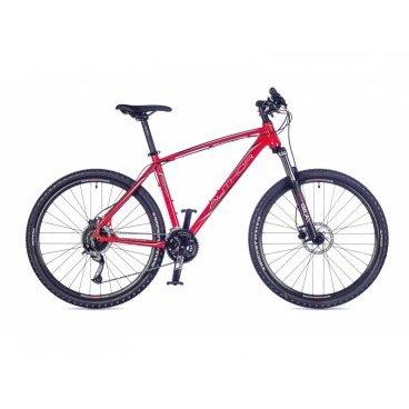 Горный велосипед AUTHOR Pegas 27,5 2016Горные (MTB)<br>AUTHOR Pegas 27,5 2016 .<br><br>Дюралевая гидроформная рама, аммортизационная вилка RST GILA 27.5 ML для более комфортной езды по бездорожью, переключатели SHIMANO ACERA, 27 скоростей, гидравлические дисковые тормоза TEKTRO AURIGA для надежного контроля, новое седло AUTHOR NAVIGATOR для удобства,<br>новые закаленные грипсы из пенистого материала AUTHOR, новые дюралевые педали AUTHOR<br><br><br><br><br><br><br>Общие характеристики<br><br><br>Модель<br>2016 года<br><br><br>Тип<br>для взрослых<br><br><br>Область применения<br>горный (MTB)<br><br><br>Вес велосипеда<br>13.9 kg / 19<br><br><br>Рама, вилка<br><br><br>Материал рамы<br>гидроформированная, алюминий 6061<br><br><br>Размеры рамы<br>17, 19, 21<br><br><br>Амортизация<br>Hard tail (с амортизационной вилкой)<br><br><br>Наименование мягкой вилки<br>RST Gila 27.5 ML mechanical<br><br><br>Конструкция вилки<br>mechanical<br><br><br>Уровень мягкой вилки<br>любительский<br><br><br>Ход вилки<br>100 мм<br><br><br>Регулировки вилки<br>блокировка хода<br><br><br>Конструкция рулевой колонки<br>интегрированная, безрезьбовая<br><br><br>Размер рулевой колонки<br>AUTHOR Integrated 1.5 tapered<br><br><br>Колеса<br><br><br>Диаметр колес<br>27.5 дюймов<br><br><br>Наименование покрышек<br>AUTHOR Rocket 27.5 x 2.10<br><br><br>Наименование ободов<br>AUTHOR Radon Pro 27.5 32 holes<br><br><br>Материал обода<br>алюминиевый сплав<br><br><br>Двойной обод<br>есть<br><br><br>Торможение<br><br><br>Наименование переднего тормоза<br>TEKTRO Auriga disc hydraulic<br>(6 rotors)<br><br><br>Тип переднего тормоза<br>дисковый (гидравлический)<br><br><br>Уровень переднего тормоза<br>любительский<br><br><br>Наименование заднего тормоза<br>TEKTRO Auriga disc hydraulic<br>(6 rotors)<br><br><br>Тип заднего тормоза<br>дисковый (гидравлический)<br><br><br>Уровень заднего тормоза<br>любительский<br><br><br>Возможность крепления дискового тормоза<br>рама, вилка, втулки<br><br><br>Трансмиссия<br><br><br>Коли