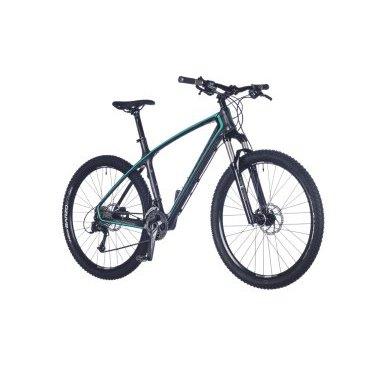 Горный велосипед AUTHOR Modus 2016Горные (MTB)<br>AUTHOR Modus 2016<br>Замечательный горный велосипед Author Modus 2016 с дисковыми гидравлическими тормозами отлично подойдет не только для катания по городу, но и по пересеченной местности. Рама модели выполнена из легкого и высокотехнологичного карбонового сплава, за счет чего общий вес велосипеда составляет всего лишь 12,5 кг. С передней части велосипеда установлена воздушная амортизационная вилка с ходом 100мм. и возможность как регулировки жесткости хода, так и полной его блокировки. Колеса оснащены двойными пистонированными ободами, что существенно снижает вероятность их деформации при неудачных поездках.<br><br><br><br><br><br><br>Общие характеристики<br><br><br>Модель<br>2016 года<br><br><br>Тип<br>для взрослых<br><br><br>Область применения<br>горный (MTB), кросс-кантри<br><br><br>Вес велосипеда<br>12.5 kg / 19<br><br><br>Рама, вилка<br><br><br>Материал рамы<br>карбон (углепластик)<br><br><br>Размеры рамы<br>16, 17.5, 19, 20.5<br><br><br>Амортизация<br>Hard tail (с амортизационной вилкой)<br><br><br>Наименование мягкой вилки<br>RST F1RST TRL 27.5 Air<br><br><br>Конструкция вилки<br>воздушно-масляная<br><br><br>Уровень мягкой вилки<br>профессиональный<br><br><br>Ход вилки<br>100 мм<br><br><br>Регулировки вилки<br>жесткости пружины, скорости сжатия, скорости обратного хода, блокировка хода<br><br>Другие регулировки<br>Remote Lockout<br><br><br>Конструкция рулевой колонки<br>безрезьбовая<br><br><br>Размер рулевой колонки<br>1 1/2<br><br><br>Колеса<br><br><br>Диаметр колес<br>27,5 дюймов<br><br><br>Наименование покрышек<br>Vittoria Barzo, 27.5x2.1<br><br><br>Наименование ободов<br>Author Radon Pro<br><br><br>Материал обода<br>алюминиевый сплав<br><br><br>Двойной обод<br>есть<br><br><br>Материал бортировочного шнура<br>кевлар<br><br><br>Торможение<br><br><br>Наименование переднего тормоза<br>Tektro Gemini, 160mm<br><br><br>Тип переднего тормоза<br>дисковый гидравлический<br><br><br>Уровень переднего тормоза<br>спор