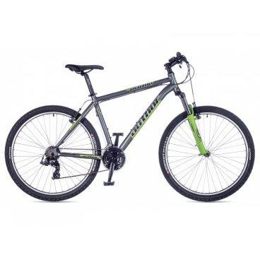 Горный велосипед AUTHOR Profile 2016Горные (MTB)<br>AUTHOR Profile 2016<br>Спортивный велосипед Author Profile 2016 отлично подойдет для катания как по городской, так и по пересеченной местности. Благодаря алюминиевой раме модель максимально прочная и устойчивая. Амортизационная вилка RST Gila способна обеспечить отличную управляемость и мягкий ход. Колеса велосипедаоборудованы эксцентриками, что делает процесс транспортировки и хранения более удобным.<br><br><br><br><br><br><br>Общие характеристики<br><br><br>Модель<br>2016 года<br><br><br>Тип<br>для взрослых<br><br><br>Область применения<br>горный (MTB), кросс-кантри<br><br><br>Вес велосипеда<br>14.9 kg / 19<br><br><br>Рама, вилка<br><br><br>Материал рамы<br>алюминиевый сплав<br><br><br>Размеры рамы<br>15, 17, 19, 21<br><br><br>Амортизация<br>Hard tail (с амортизационной вилкой)<br><br><br>Наименование мягкой вилки<br>RST Gila T 27.5<br><br><br>Конструкция вилки<br>пружинно-эластомерная<br><br><br>Уровень мягкой вилки<br>прогулочный<br><br><br>Ход вилки<br>100 мм<br><br><br>Регулировки вилки<br>жесткости пружины<br><br><br>Конструкция рулевой колонки<br>интегрированная, безрезьбовая<br><br><br>Размер рулевой колонки<br>1 1/8<br><br><br>Колеса<br><br><br>Диаметр колес<br>27.5 дюймов<br><br><br>Наименование покрышек<br>Author Rocket, 27.5x2.1<br><br><br>Наименование ободов<br>alloy 32 holes<br><br><br>Материал обода<br>алюминиевый сплав<br><br><br>Двойной обод<br>нет<br><br><br>Торможение<br><br><br>Наименование переднего тормоза<br>Tektro 837<br><br><br>Тип переднего тормоза<br>V-Brake<br><br><br>Уровень переднего тормоза<br>прогулочный<br><br><br>Наименование заднего тормоза<br>Tektro 837<br><br><br>Тип заднего тормоза<br>V-Brake<br><br><br>Уровень заднего тормоза<br>прогулочный<br><br><br><br>Трансмиссия<br><br><br>Количество скоростей<br>21<br><br><br>Уровень заднего переключателя<br>начальный <br><br><br>Наименование заднего переключателя<br>Shimano Tourney RD-TX55<br><br><br>Уровень переднего переключателя<br>