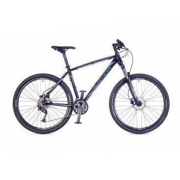 Горный велосипед AUTHOR Spirit 2016Горные (MTB)<br>AUTHOR Spirit 2016<br>Новый универсальный формат колес 650В, надежный обвес и спортивный дизайн - вот отличительные характеристики модели Author SPIRIT. Модель собрана на облегченной раме, что позволило существенно снизить вес велосипеда. Обвес начального спортивного уровня обеспечит легкое управление байком на любой трассе. Амортизационная вилка и дисковая гидравлика обеспечат максимальный комфорт. Отличная модель для тех, кто ценит функционал и стильный дизайн. Такой велосипед станет прекрасным помощником в ваши маленьких велосипедных путешествиях. <br><br><br><br><br><br><br>Общие характеристики<br><br><br>Модель<br>2016 года<br><br><br>Тип<br>для взрослых<br><br><br>Область применения<br>горный (MTB), кросс-кантри<br><br><br>Вес велосипеда<br>14.5 kg / 19<br><br><br>Рама, вилка<br><br><br>Материал рамы<br>алюминиевый сплав<br><br><br>Размеры рамы<br>15, 17, 19, 21<br><br><br>Амортизация<br>Hard tail (с амортизационной вилкой)<br><br><br>Наименование мягкой вилки<br>RST Blaze 650B TNL<br><br><br>Конструкция вилки<br>пружинно-масляная<br><br><br>Уровень мягкой вилки<br>спортивный<br><br><br>Ход вилки<br>100 мм<br><br><br>Регулировки вилки<br>жесткости пружины, блокировка хода<br><br><br>Конструкция рулевой колонки<br>интегрированная, безрезьбовая<br><br><br>Размер рулевой колонки<br>1 1/2<br><br><br>Колеса<br><br><br>Диаметр колес<br>27.5 дюймов<br><br><br>Наименование покрышек<br>Author Rocket, 27.5x2.10<br><br><br>Наименование ободов<br>Author Radon<br><br><br>Материал обода<br>алюминиевый сплав<br><br><br>Двойной обод<br>есть<br><br><br>Торможение<br><br><br>Наименование переднего тормоза<br>Tektro Auriga, 160mm<br><br><br>Тип переднего тормоза<br>дисковый гидравлический<br><br><br>Уровень переднего тормоза<br>спортивный<br><br><br>Наименование заднего тормоза<br>Tektro Auriga, 160mm<br><br><br>Тип заднего тормоза<br>дисковый гидравлический<br><br><br>Уровень заднего тормоза<br>спортивный<br><br><br><br>Трансми