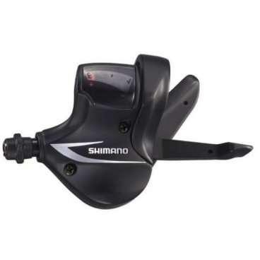 Шифтер для велосипеда Shimano Acera M360, левый, 3 скорости, 1800мм, без упаковки ASLM360LBМанетки и Шифтеры<br>Шифтер Acera, M360, лев, 3ск, 1800мм, б/уп.<br>