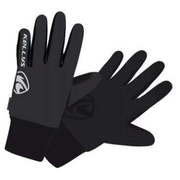Перчатки KELLYS FROSTY, зимние, серые, S, Winter Gloves FROSTY NEW grey SВелоперчатки<br>KELLYS Перчатки зимние FROSTY серые S<br>