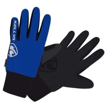 Перчатки KELLYS FROSTY, зимние, синие, S, Winter Gloves FROSTY NEW blue SВелоперчатки<br>KELLYS Перчатки зимние FROSTY синие S<br>