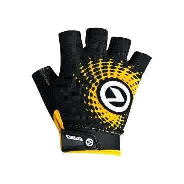 Перчатки KELLYS IMPACT SHORT Lycra, чёрный/оранжевый, XL, Gloves IMPACT SHORT Lycra black-orange, XLВелоперчатки<br>Благодаря тому, что&amp;nbsp;перчатки IMPACT SHORT&amp;nbsp;изготовлены из лайкры, эта модель имеет отличную посадку, сидит на руке как вторая кожа.&amp;nbsp;  Новая конструкция ладони оптимизирует хват руля. На стороне ладоней нанесены силиконовые принты для обеспечения наилучшего контроля.&amp;nbsp;  Для простого и быстрого одевания сторона ладони имеет удлиненный язычок с силиконовым логотипом.&amp;nbsp;  Браслет с липучкой на запястье&amp;nbsp;обеспечивает надежную фиксацию&amp;nbsp;и дает возможность регулировки&amp;nbsp;по&amp;nbsp;размеру&amp;nbsp;запястья.&amp;nbsp;  В области большого пальца вставка из махрового материала.&amp;nbsp;  Тыльная сторона украшена ярким изображением логотипа компании KELLYS.     Перчатки&amp;nbsp;KELLYS IMPACT SHORT Lyra:  Материал:&amp;nbsp;лайкра.  Тип:&amp;nbsp;без пальцев.  Цвет:&amp;nbsp;чёрный/оранжевый.  Размер:&amp;nbsp;XL.<br>