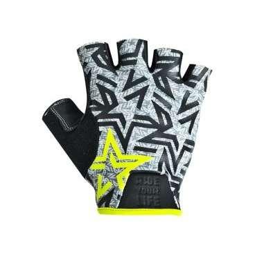 Перчатки KELLYS IMPULS short, без пальцев, салатовые, M, Gloves IMPULS short, lime green MВелоперчатки<br>Велоперчатки - это не просто красивый аксессуар или часть экипировки. Перчатки - это элемент безопасности и защиты.  В&amp;nbsp;перчатках KELLYS IMPULS short&amp;nbsp;Вы будете держать байк под абсолютным контролем. Ладонь из не скользящего материала AMARA (синтетическая кожа) вкупе с гелевыми накладками и силиконовым принтом дают 100 процентное сцепление с рулем.  В перчатках KELLYS IMPULS short Вы навсегда забудете о мозолях на ладонях, и ничто не заставит Вас отказаться велопробега.  Перчатки KELLYS IMPULS short бесспорно защитят ладони от ссадин при внезапном падении с байка. Асфальтная болезнь - прерогатива не только для детей!  IMPULS short имеют слегка удлиненную сторону ладони - так называемый язычок - для легкого одевания перчатки, в области большого - махровый материал.     Перчатки&amp;nbsp;KELLYS IMPULS short:  Материал:&amp;nbsp;полиэстер, синтетическая кожа.  Тип:&amp;nbsp;без пальцев.  Цвет:&amp;nbsp;салатовый.  Размер:&amp;nbsp;М.  <br><br>Ширина ладони: 100 мм.<br>