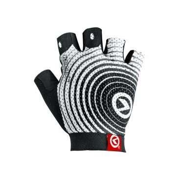 Перчатки KELLYS INSTINCT short, без пальцев, бело-чёрные, L, Gloves INSTINCT short , white/black LВелоперчатки<br>Вело перчатки созданы не для согревания рук, как обычные перчатки. Они наделены более важной миссией - защита от мозолей и повреждений кожи рук, вызванных падением.  Для того, чтобы Ваши руки были в порядке, и Вы оставили в прошлом все, что связано с натиранием и мозолями, короткопалые&amp;nbsp;перчатки KELLYS INSTINCT shortснабжены мягкими подушечками в области ладони&amp;nbsp;c гелем.  Для лучшего сцепления с рулем, а значит, и лучшей управляемости, на ладонях проштампован силиконовый рисунок.  Для улучшения вентиляции - поверхность перчаток изготовлена из сетчатого проветриваемого материала - лайкры.  Для простого и быстрого натягивания перчатки предусмотрен специальный удлиненный язычок с объемным логотипом.  Перчатки KELLYS INSTINCT short вобрали в себя только лучшие качества. Для Вашего комфорта!     Перчатки&amp;nbsp;KELLYS INSTINCT short:  Материал:&amp;nbsp;лайкра, синтетическая кожа.  Тип:&amp;nbsp;без пальцев.  Цвет:&amp;nbsp;белый/черный.  Размер:&amp;nbsp;L.<br>