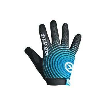 Перчатки KELLYS INSTINCT long , чёрно-синие, XSВелоперчатки<br>KELLYS Перчатки INSTINCT long, чёрно-синие XS<br>