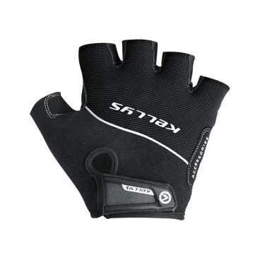 Перчатки KELLYS RACE, без пальцев, чёрные, L, Gloves RACE, Black, LВелоперчатки<br>Поберегите свои руки, приобретите защитные&amp;nbsp;перчатки Kellys Race!&amp;nbsp;От чего они смогут Вас уберечь?  От натирания ладоней до мозолей - раз. От скольжения влажных рук по рулю, что может привести к потере контроля над байком, - два. От травм и ссадин ладоней - три.  Этих доводов уже достаточно, чтобы немедленно сделать покупку в магазине ВЕЛООЛИМП, но есть и еще кое что.  Перчатки Kellys Race изготовлены только из качественных материалов. Верх - дышащий полиэстер, ладонь - воздушная сетка полиэфира с эргономичными накладками из синтетической кожи с мягкой набивкой.  На тыльной стороне перчаток нанесен логотип компании-производителя&amp;nbsp;Kellys&amp;nbsp;и вшит светоотражающий кант.     Перчатки&amp;nbsp;KELLYS RACE:  Материал:&amp;nbsp;полиэстер, синтетическая кожа.  Тип:&amp;nbsp;без пальцев.  Цвет:&amp;nbsp;черный.  Размер:&amp;nbsp;L.<br>