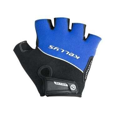 Перчатки KELLYS RACE, без пальцев, синие, L, Gloves RACE, Blue, LВелоперчатки<br>Поберегите свои руки, приобретите защитные&amp;nbsp;перчатки Kellys Race!&amp;nbsp;От чего они смогут Вас уберечь?  От натирания ладоней до мозолей - раз. От скольжения влажных рук по рулю, что может привести к потере контроля над байком, - два. От травм и ссадин ладоней - три.  Этих доводов уже достаточно, чтобы немедленно сделать покупку в магазине ВЕЛООЛИМП, но есть и еще кое что.  Перчатки Kellys Race изготовлены только из качественных материалов. Верх - дышащий полиэстер, ладонь - воздушная сетка полиэфира с эргономичными накладками из синтетической кожи с мягкой набивкой.  На тыльной стороне перчаток нанесен логотип компании-производителя&amp;nbsp;Kellys&amp;nbsp;и вшит светоотражающий кант.     Перчатки&amp;nbsp;KELLYS RACE:  Материал:&amp;nbsp;полиэстер, синтетическая кожа.  Тип:&amp;nbsp;без пальцев.  Цвет:&amp;nbsp;синий.  Размер:&amp;nbsp;L.<br>