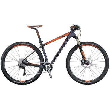 Горный велосипед Scott Scale 930 2016Горные (MTB)<br>Scott Scale 930 2016<br>SCOTT SCALE 930 - велосипед с колесами 29 на основе легендарной карбоновой рамы SCALE, укомплектованный трансмиссией Shimano Deore/Deore XT, воздушной амортизационной вилкой FOX и гидравлическими дисковыми тормозами Shimano. Амортизационная вилка FOX является одной из лучших вилок на рынке, ее работа не оставит равнодушным ни начиющего велосипедиста, ни велосипедиста со стажем.<br>Колеса диаметром 29 отлично подойдут мощным и выносливым велосипедистам, так имеют больший накат, проходимость, инерционность и площаль сцепления, по равнению с колесами 27,5, но при этом требуют больше мускоульных затрат<br>Две звезды спереди и 10 сзади дают весь необходимый диапазон передач для внедорожной езды, а трансмиссия Shimano продвинутого уровня не подведет в любую погоду и любое время года. SCOTT SCALE 930 достаточно серьезный аппарат, позволяющий не чувствать себя аутсайдером на внедорожных любительских соревнованиях.<br>Карбоновая рама, вилка FOX, система виброгашения SDS, вилка FOX 32 Float Performance Air с тремя режимами работы, активируемые манеткой Shimano SLX SL-M670-I Rapidfire plus, тормоза Shimano disc, оптимизированная трансмиссия 2 x 10, компоненты Syncros <br><br><br><br><br><br><br><br><br>Общие характеристики<br><br><br>Модель<br>2016 года<br><br><br>Тип<br>для взрослых<br><br><br>Область применения<br>горный (MTB), кросс-кантри<br><br><br>Вес велосипеда<br>10.6 кг<br><br><br>Рама, вилка<br><br><br>Материал рамы<br>карбон (углепластик)<br><br><br>Размеры рамы<br>15.35, 17.32, 18.89, 20.86<br><br><br>Амортизация<br>Hard tail (с амортизационной вилкой)<br><br><br>Наименование мягкой вилки<br>Fox 32 Float Performance Air FIT4 3-Modes<br><br><br>Конструкция вилки<br>воздушно-масляная<br><br><br>Уровень мягкой вилки<br>профессиональный<br><br><br>Ход вилки<br>100 мм<br><br><br>Регулировки вилки<br>жесткости пружины, скорости сжатия, скорости обратного хода, блокировка хода<br><br><br>Другие р