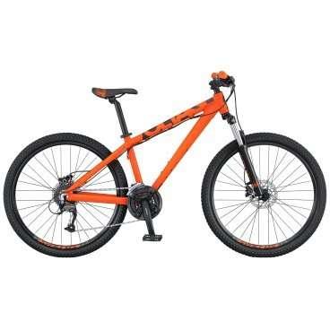 Горный велосипед Scott Voltage YZ 10  2016Горные (MTB)<br>SCOTT Voltage YZ 10 2016<br>SCOTT Voltage YZ 10- топ модель в линейке YZ. В основе модели используется супер жесткая усиленная рама из алюминиевого сплава 6061, в сочетании с вилкой Suntour XCM с ходом 100мм, чтобы создать устойчивую основу для прыжков. Идеально подходит для байк-парка, но в отличие от более традиционных прыжковых байков на этом SCOTT Voltage вы уверенно будете чувствовать себя и на лесной тропе и просто на уличной прогулке, ведь он оснащен 24х скоростной трансмиссией и гидравлическими дисковыми тормозамиShimano BR-M355. SCOTT Voltage YZ 10 адресован экстрималам, исповедующих Street и Dirt, но непрочь также прохвотить с ветерком по природе.<br><br><br><br><br><br><br><br><br>Общие характеристики<br><br><br>Модель<br>2016 года<br><br><br>Тип<br>для взрослых<br><br><br>Область применения<br>горный (MTB), дёрт<br><br><br>Вес велосипеда<br>14.6 кг<br><br><br>Рама, вилка<br><br><br>Материал рамы<br>алюминиевый сплав<br><br><br>Размеры рамы<br>13.0, 14.56, 16.14, 18.11, 20.07<br><br><br>Амортизация<br>Hard tail (с амортизационной вилкой)<br><br><br>Наименование мягкой вилки<br>SR Suntour XCM<br><br><br>Конструкция вилки<br>пружинно-эластомерная<br><br><br>Уровень мягкой вилки<br>прогулочный<br><br><br>Ход вилки<br>100 мм<br><br><br>Регулировки вилки<br>жесткости пружины<br><br><br>Конструкция рулевой колонки<br>безрезьбовая<br><br><br>Колеса<br><br><br>Диаметр колес<br>26 дюймов<br><br><br>Наименование покрышек<br>Kenda K-905, 26x2.125, 22TPI<br><br><br>Наименование ободов<br>Alex X-36 Disc<br><br><br>Материал обода<br>алюминиевый сплав<br><br><br>Двойной обод<br>есть<br><br><br>Торможение<br><br><br>Наименование переднего тормоза<br>Shimano BR-M355, 160mm<br><br><br>Тип переднего тормоза<br>дисковый гидравлический<br><br><br>Уровень переднего тормоза<br>спортивный<br><br><br>Наименование заднего тормоза<br>Shimano BR-M355, 160mm<br><br><br>Тип заднего тормоза<br>дисковый гидравлический<br><br><br>
