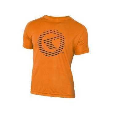 Футболка KELLYS Active S, с коротким рукавом, для занятий спортом, Functional T-shirt ActiveВелофутболка<br>Материал, из которого изготовлена&amp;nbsp;футболка Active, отличается тем, что он легкий, мягкий, дышащий, очень приятен к телу.&amp;nbsp;  В футболках-джерси комфортно заниматься абсолютно любым видом спорта, в том числе и велоспортом.&amp;nbsp;&amp;nbsp;  Известно, что во время физических нагрузок усиливается процесс потоотделения. Футболки-джерси моментально впитывают влагу и так же моментально высыхают. Поэтому, &amp;nbsp;Вы&amp;nbsp;чувствуете&amp;nbsp;в&amp;nbsp;них&amp;nbsp;себя комфортно -&amp;nbsp;футболка&amp;nbsp;не прилипает к телу.&amp;nbsp;  Джерси от Kellys очень яркие. Проезжающему мимо транспорту будет видно Вас еще издали, поэтому Вы будете в безопасности на дороге!     Футболка KELLYS Active:  Материал: 100% полиэстер.  Размер: S.  Рукав: короткий.  Цвет: оранжевый.  Рисунок: логотип KELLYS.<br>