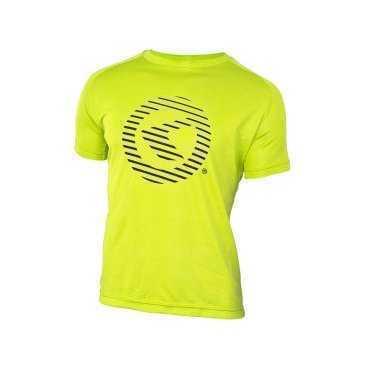 Футболка KELLYS Active XL, с коротким рукавом, для занятий спортом, Functional T-shirt ActiveВелофутболка<br>Материал, из которого изготовлена&amp;nbsp;футболка Active, отличается тем, что он легкий, мягкий, дышащий, очень приятен к телу.&amp;nbsp;  В футболках-джерси комфортно заниматься абсолютно любым видом спорта, в том числе и велоспортом.&amp;nbsp;&amp;nbsp;  Известно, что во время физических нагрузок усиливается процесс потоотделения. Футболки-джерси моментально впитывают влагу и так же моментально высыхают. Поэтому, &amp;nbsp;Вы&amp;nbsp;чувствуете&amp;nbsp;в&amp;nbsp;них&amp;nbsp;себя комфортно -&amp;nbsp;футболка&amp;nbsp;не прилипает к телу.&amp;nbsp;  Джерси от Kellys очень яркие. Проезжающему мимо транспорту будет видно Вас еще издали, поэтому Вы будете в безопасности на дороге!     Футболка KELLYS Activ:  Материал: 100% полиэстер.  Размер: ХL.  Рукав: короткий.  Цвет: желтый.  Рисунок: логотип KELLYS.<br>