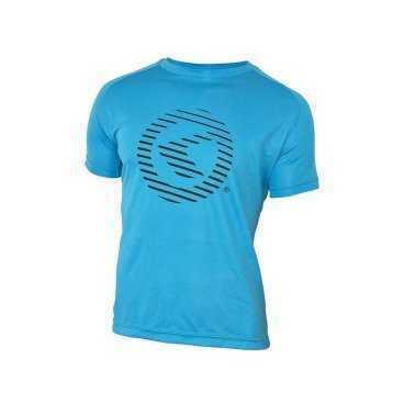 Футболка KELLYS Active XL, с коротким рукавом, для занятий спортом, Functional T-shirt ActiveВелофутболка<br>Выбирая форму для занятия спортом - велосипед, бег, качалка, нужно учитывать, что во время активных нагрузок ускоряется процесс потоотделения.  Поэтому такая вещь, как&amp;nbsp;футболка, должна&amp;nbsp;быть из материала, впитывающего&amp;nbsp;влагу, быстро&amp;nbsp;сохнущего и не раздражающего кожу.&amp;nbsp;  Футболка Active&amp;nbsp;от KELLYS&amp;nbsp;создана специально для активной, ежедневной носки во время тренировок в помещении и на свежем воздухе.  Материал - ультралегкий и тонкий. Футболка будет подарить Вам ощущение свежести и прохлады в течение всей тренировки.     Футболка&amp;nbsp;KELLYS Active:  Материал: 100% полиэстер.  Размер: ХL.  Рукав: короткий.  Цвет: синий.  Рисунок: логотип KELLYS.<br>