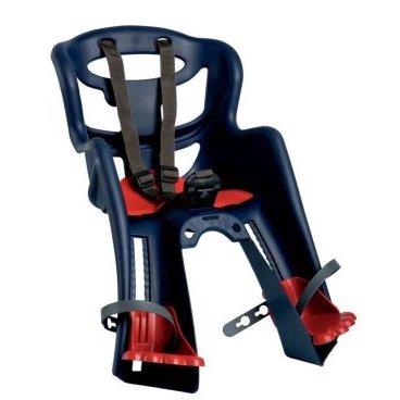 Детское велокресло на руль BELLELLI Tatoo HandleFix, до 15кг, тёмно-синее, 01TAT 00005Детское велокресло<br>Детское вело креслоTatoo HandleFixпроизведено итальянской компанией BELLELLI.  Bellelli- это известнейший производитель товаров для детей (вело кресла, авто кресла, защитные шлемы). Девиз этой компании - товары с максимальной безопасностью по приемлемой цене!  Очень важно, что Bellelli постоянно проводит тестирование производимой продукции. Эти испытания проводятся на собственной базе. То есть, покупая это кресло для своего ребенка, Вы можете быть уверены, что покупаете качественную вещь, прошедшую все испытания и сертификацию, выполненную только из качественных материалов.  Детское вело кресло Tatoo HandleFix создано для перевозки ребенка на взрослом велосипеде. Его устанавливают на рулевую трубу велосипеда с помощью специального крепления HandleFix. Вы можете установить это крепление на свой велосипед стационарно, оно не нарушит гармоничный вид велосипеда. А по мере того, как Вы решите отправиться на прогулку с ребенком, кресло в два счета вставляется в это крепление и все - оно надежно закреплено!  Теперь об удобствах для малыша - мягкая вкладка, вентилируемая спинка, подпятники, которые регулируются по высоте для опоры ножек, - Ваш малыш точно не захочет вылезать из кресла Tatoo HandleFix! А это значит, что Ваша вело прогулка закончится только в тот момент, когда этого захотите Вы, и ее не прервет плач ребенка, уставшего сидеть в неудобном кресле!    Внимание:  -Велосипедом, на котором установлено детское кресло, должен управлять опытный пользователь!  -Велокресло не может устанавливаться на велосипеды с квадратной трубой рамы и на велосипеды с задней амортизацией.  -Используйте защитные средства во время катания на велосипеде (шлем/наколенники!).      Велокресло детскоепереднееBellelli Tatoo HandleFix (Тёмно-синее):  Вес ребёнка:не более 15 кг.  Возраст ребёнка:~ 3-4 года.  Материал:пластик.  Материал крепления:сталь.  Крепление HandleFix:это крепление на