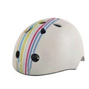 Велошлем детский BELLELLI Frank,  белый, размер S, 01HEL050010Велошлемы<br>Детский шлем-котелок BELLELLI&amp;nbsp;- для юных спортсменов, занимающихся экстремальными видами спорта. Шлем будет впору детям, размер головы которых находится в интервале от 48 до 54 см.&amp;nbsp; Определить размер не сложно - нужна только сантиметровая лента.  Измерьте окружность, приложив ленту по линии надбровных дуг, а сзади - по самой выпуклой точке затылка.  Шлем BELLELLI&amp;nbsp;отлично защитит височную часть черепа и затылок. Снаружи - скорлупа из прочного пластика, внутренний слой - полипропилен. Мягкие простаки внутри шлема создают амортизацию. Проставки имеются на височной, затылочной области. Есть дополнительные вставки на теменную область и проставки, закрывающие уши.&amp;nbsp;  Шлем отлично подойдет для катаний в межсезонье, под него можно поддеть шапку или подшлемник.     Шлем детский&amp;nbsp;ВELLELLI&amp;nbsp;Frank:  Цвет:&amp;nbsp;белый.  Размер: S.  Страна-производитель:&amp;nbsp;Италия.<br>