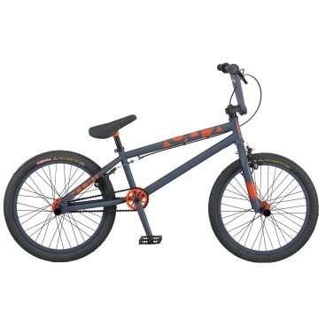 Велосипед BMX Scott Volt-X 10 2016BMX<br>Scott Volt-X 10 2016<br>Байк для покатушек по городу и исполнения трюков. Велосипед Scott Volt-X 10 обладает запасом прочности для безопасности Райдера. Жесткая вилка гарантирует хорошую управляемость при резких поворотах и прыжках. Покрышки Kenda Dirt создают отличное сцепление с дорогой.<br><br><br><br><br><br><br><br><br>Общие характеристики<br><br><br>Модель<br>2016 года<br><br><br>Тип<br>подростковый<br><br><br>Область применения<br>BMX<br><br><br>Вес велосипеда<br>12.7 кг<br><br><br>Рама, вилка<br><br><br>Материал рамы<br>хроммолибденовый сплав<br><br><br>Амортизация<br>отсутствует<br><br><br>Конструкция вилки<br>жесткая<br><br><br>Конструкция рулевой колонки<br>интегрированная, безрезьбовая<br><br><br>Колеса<br><br><br>Диаметр колес<br>20 дюймов<br><br><br>Наименование покрышек<br>Kenda K907 Dirt, 20x1.95<br><br><br>Наименование ободов<br>Alex J303<br><br><br>Материал обода<br>алюминиевый сплав<br><br><br>Двойной обод<br>есть<br><br><br>Материал бортировочного шнура<br>металл<br><br><br>Торможение<br><br><br>Наименование переднего тормоза<br>Tektro 985AFS<br><br><br>Тип переднего тормоза<br>клещевой<br><br><br>Уровень переднего тормоза<br>начальный<br><br><br>Наименование заднего тормоза<br>Tektro 907AD<br><br><br>Тип заднего тормоза<br>клещевой<br><br><br>Уровень заднего тормоза<br>прогулочный<br><br><br>Трансмиссия<br><br><br>Количество скоростей<br>1<br><br><br>Уровень каретки<br>прогулочные<br><br><br>Наименование каретки<br>JY Mid-size BB<br><br><br>Конструкция каретки<br>неинтегрированная<br><br><br>Кассеты<br>9T<br><br><br>Количество звезд в кассете<br>1<br><br><br>Количество звезд системы<br>1, число зубьев 25<br><br><br>Конструкция педалей<br>платформы<br><br><br>Длина шатунов<br>17.5 см<br><br><br>Руль<br><br><br>Конструкция руля<br>изогнутый<br>