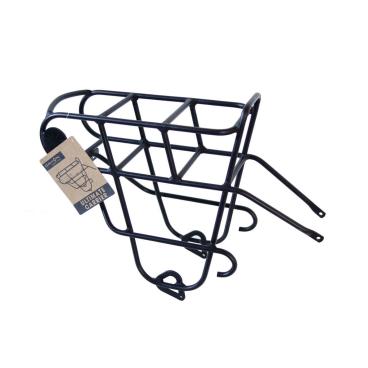 Велосипедный багажник DAHON ULTIMATE CARRIER, NDH14074Велосумки<br>DAHON ULTIMATE CARRIER<br>Багажник платформенного типа разработан для укладки ряда предметов, которые просто не помещаются в корзину или сумку. Передний багажник надежно крепится к раме велосипеда, не оказывает влияния на рулевое управление и гарантирует низкий центр тяжести, поэтому вам не придется волноваться о потере управления.<br>