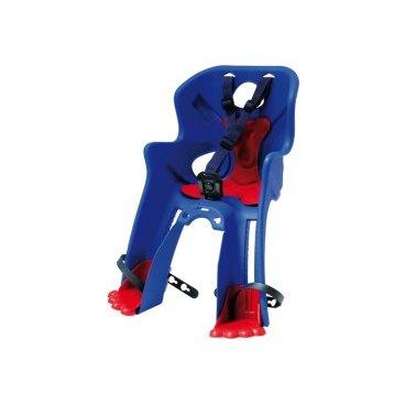 Велокресло детское BELLELLI Rabbit B-Fix, переднее, синее, 01RBTB0001Детское велокресло<br>Вело кресло переднее Rabbit с креплением B-Fix - это новинка 2016 года от BELLELLI.  <br>Крепление этого кресла обладает дополнительной опцией «контроль». То есть, без специального ключа снять или установить кресло не возможно.  <br>Кресло Rabbit B-Fix устанавливается на рулевой стакан либо на нижнюю трубу рамы байка.  <br>Покупая вело кресло Rabbit B-Fix, убедитесь, что Ваш велосипед соответствует определенным требованиям. Рама велосипеда должна быть либо круглого (28-45 мм), либо овального сечения (28-60 мм). На велосипеды с квадратным сечением рамы кресло Rabbit B-Fix устанавливать нельзя! Велосипед должен быть без задней амортизации!  <br>Вело кресло изготовлено из прочного пластика, оно цельное, без неудобных стыков. Внутри мягкий вкладыш, который всегда можно постирать.  <br>Конструкторы BELLELLI позаботились и о безопасности малыша - защита ног от соприкосновения с колесом, надежные ремни безопасности, высокие боковины. <br>Отличительная особенность модели Rabbit подножки в виде лапок зайца. Они непременно понравятся Вашему ребенку!<br><br>Внимание: <br><br>-Велосипедом, на котором установлено детское кресло, должен управлять опытный пользователь! <br><br>-Велокресло не может устанавливаться на велосипеды с квадратной трубой рамы и на велосипеды с задней амортизацией.<br><br>-Используйте защитные средства во время катания на велосипеде (шлем/наколенники!).<br><br>Вес ребёнка: не более 15 кг.<br>Возраст ребёнка: ~ 3-4 года.<br>Материал: пластик.<br>Материал крепления: сталь.<br>Крепление B-Fix: это крепление на  рулевой стакан либо на нижнюю трубу рамы велосипеда.<br>Крепление: на рулевую трубу рамы велосипеда (городских моделей).<br>Диаметр трубы взрослого велосипеда: от 28 до 45 мм (круглое сечение рамы), от 28 до 60 мм (овальное сечение рамы).<br>Вентилируемая спинка - есть.<br>Регулировка ремней: есть.<br>Защитная платформа для ног с регулировкой: есть.<br>Цвет кресл