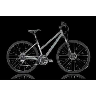 Женский гибридный велосипед KELLYS CLEA 90 2016Гибридные<br>KELLYS CLEA 90 2016<br>KELLYS CLEA 90 2016 - отлично подходит для катания по асфальтированым городским улицам так и по пересечнной месности парков. В отличии от других моделей это серии на этот велосипед установлены дисковые гидравлические тормоза ProMax, которые значительно повышают качество торможение на больших скоростях. Регулируемый вынос руля позволит подобрать оптимальное положение на велосипеде. Амортизационная вилка и удобное седло позволяют с комфортом кататься по вашим любимым маршрутам. Яркий и стильный дизайн не оставит равнодушной не одну любительницу активного отдыха!<br><br><br><br><br><br><br>Общие характеристики<br><br><br>Модель<br>2016 года<br><br><br>Тип<br>для взрослых, женская модель<br><br><br>Область применения<br>горный гибрид<br><br><br>Вес велосипеда<br>13,94 кг<br><br><br>Рама, вилка<br><br><br>Материал рамы<br>алюминиевый сплав<br><br><br>Размеры рамы<br>17, 19<br><br><br>Амортизация<br>Hard tail (с амортизационной вилкой)<br><br><br>Наименование мягкой вилки<br>SR Suntour NEX-HLO<br><br><br>Конструкция вилки<br>пружинно-масляная<br><br><br>Уровень мягкой вилки<br>спортивный<br><br><br>Ход вилки<br>63 мм<br><br><br>Регулировки вилки<br>жесткости пружины, блокировка хода<br><br><br>Конструкция рулевой колонки<br>полуинтегрированная, безрезьбовая<br><br><br>Размер рулевой колонки<br>1 1/8<br><br><br>Колеса<br><br><br>Диаметр колес<br>28 дюймов<br><br><br>Наименование покрышек<br>Innova 44-622, 700x42c<br><br><br>Наименование ободов<br>KLS Draft, 622x19<br><br><br>Материал обода<br>алюминиевый сплав<br><br><br>Двойной обод<br>есть<br><br><br>Материал бортировочного шнура<br>металл<br><br><br>Торможение<br><br><br>Наименование переднего тормоза<br>ProMax Solve, 160mm<br><br><br>Тип переднего тормоза<br>дисковый гидравлический<br><br><br>Уровень переднего тормоза<br>спортивный <br><br><br>Наименование заднего тормоза<br>ProMax Solve, 160mm<br><br><br>Тип заднего тормоза<br>дисковый 