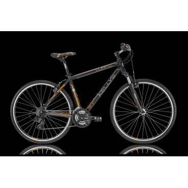 Гибридный велосипед KELLYS CLIFF 30 2016Гибридные<br>KELLYS CLIFF 30 2016<br>KELLYS CLIFF 30 2016 - универсальный велосипед как для проселочных дорог так и для асфальта. Пружинно-масляная амортизационная вилка помогает сглаживать неровности при каткнии. Несмотря на кажащуюся простоту тормоза Apse Artek позволяют уверенно сбрасывать скорость в нужных моментах вашей велосипедной прогулки. Велосипед укомплектован оборудованием известной фирмы Shimano!<br><br><br><br><br><br><br>Общие характеристики<br><br><br>Модель<br>2016 года<br><br><br>Тип<br>для взрослых<br><br><br>Область применения<br>горный гибрид<br><br><br>Вес велосипеда<br>13.90 кг<br><br><br>Рама, вилка<br><br><br>Материал рамы<br>алюминиевый сплав<br><br><br>Размеры рамы<br>17, 19, 21<br><br><br>Амортизация<br>Hard tail (с амортизационной вилкой)<br><br><br>Наименование мягкой вилки<br>SR Suntour NEX-HLO<br><br><br>Конструкция вилки<br>пружинно-масляная<br><br><br>Уровень мягкой вилки<br>спортивный<br><br><br>Ход вилки<br>63 мм<br><br><br>Регулировки вилки<br>жесткости пружины, блокировка хода<br><br><br>Конструкция рулевой колонки<br>полуинтегрированная, безрезьбовая<br><br><br>Размер рулевой колонки<br>1 1/8<br><br><br>Колеса<br><br><br>Диаметр колес<br>28 дюймов<br><br><br>Наименование покрышек<br>Innova 44-622, 700x42c<br><br><br>Наименование ободов<br>KLS Draft, 622x19<br><br><br>Материал обода<br>алюминиевый сплав<br><br><br>Двойной обод<br>есть<br><br><br>Материал бортировочного шнура<br>металл<br><br><br>Торможение<br><br><br>Наименование переднего тормоза<br>Apse Artek<br><br><br>Тип переднего тормоза<br>V-Brake<br><br><br>Уровень переднего тормоза<br>прогулочный<br><br><br>Наименование заднего тормоза<br>Apse Artek<br><br><br>Тип заднего тормоза<br>V-Brake<br><br><br>Уровень заднего тормоза<br>прогулочный<br><br><br>Возможность крепления дискового тормоза<br>рама<br><br><br>Трансмиссия<br><br><br>Количество скоростей<br>24<br><br><br>Уровень заднего переключателя<br>начальный<br><br><br>Наименова
