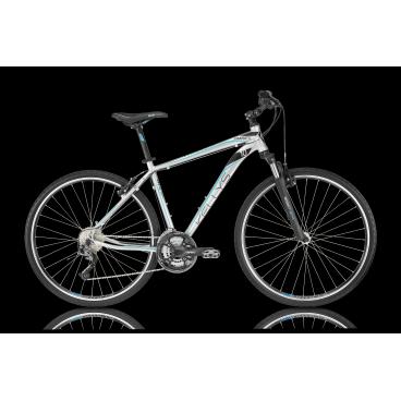 Гибридный велосипед KELLYS PHANATIC 10 2016Гибридные<br>KELLYS PHANATIC 10 2016<br>KELLYS PHANATIC 10 2016 - универсальный велосипед как для проселочных дорог так и для асфальта. Пружинно-масляная амортизационная вилка помогает сглаживать неровности при каткнии, а с помощью возможности изменять жесткость пружины или вовсе заблокировать ход вилки вы можете настроить её под все возможные ситуации. Велосипед укомплектован оборудованием спортивного уровня Shimano Alivio!<br><br><br><br><br><br><br><br>Общие характеристики<br><br><br>Модель<br>2016 года<br><br><br>Тип<br>для взрослых<br><br><br>Область применения<br>горный гибрид<br><br><br>Вес велосипеда<br>14.90 кг<br><br><br>Рама, вилка<br><br><br>Материал рамы<br>алюминиевый сплав<br><br><br>Размеры рамы<br>17, 19, 21, 23<br><br><br>Амортизация<br>Hard tail (с амортизационной вилкой)<br><br><br>Наименование мягкой вилки<br>SR Suntour NEX-HLO Coil<br><br><br>Конструкция вилки<br>пружинно-масляная<br><br><br>Уровень мягкой вилки<br>спортивный<br><br><br>Ход вилки<br>63 мм<br><br><br>Регулировки вилки<br>жесткости пружины, блокировка хода<br><br><br>Конструкция рулевой колонки<br>полуинтегрированная, безрезьбовая<br><br><br>Размер рулевой колонки<br>1 1/8<br><br><br>Колеса<br><br><br>Диаметр колес<br>28 дюймов<br><br><br>Наименование покрышек<br>Innova 44-622, 700x42c<br><br><br>Наименование ободов<br>KLS Draft, 622x19<br><br><br>Материал обода<br>алюминиевый сплав<br><br><br>Двойной обод<br>есть<br><br><br>Материал бортировочного шнура<br>металл<br><br><br>Торможение<br><br><br>Наименование переднего тормоза<br>Tektro<br><br><br>Тип переднего тормоза<br>V-Brake<br><br><br>Уровень переднего тормоза<br>прогулочный<br><br><br>Наименование заднего тормоза<br>Tektro<br><br><br>Тип заднего тормоза<br>V-Brake<br><br><br>Уровень заднего тормоза<br>прогулочный<br><br><br>Возможность крепления дискового тормоза<br>рама<br><br><br>Трансмиссия<br><br><br>Количество скоростей<br>27<br><br><br>Уровень заднего переключателя<br>спорти