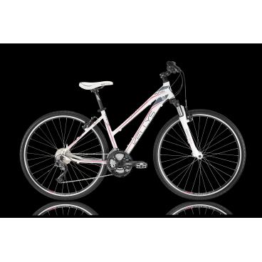 Женский гибридный велосипед KELLYS PHUTURA 10 2016Гибридные<br>KELLYS PHUTURA 10<br>KELLYS PHUTURA 10 - женский уневерсальный велосипед со спортивным оборудованием Shimano Alivio, отлично подходит для асфальтированых дорог и легкого бездорожья. Пружинно-масляная вилка хорошо справляется с неровностями дороги, а благодоря возможности регулировки жесткости и блокировки её можно настроить под любые условия. Колеса на 28 дюймов обеспечивают хороший накат и дают возможность поддерживать высокую среднюю скорость катания, чему так же способствует трансмися на 27 скоростей.<br><br><br><br><br>Общие характеристики<br><br><br>Модель<br>2016 года<br><br><br>Тип<br>для взрослых, женская модель<br><br><br>Область применения<br>горный гибрид<br><br><br>Вес велосипеда<br>13,80 кг<br><br><br>Рама, вилка<br><br><br>Материал рамы<br>алюминиевый сплав<br><br><br>Размеры рамы<br>17, 19<br><br><br>Амортизация<br>Hard tail (с амортизационной вилкой)<br><br><br>Наименование мягкой вилки<br>SR Suntour NEX-HLO Coil<br><br><br>Конструкция вилки<br>пружинно-масляная<br><br><br>Уровень мягкой вилки<br>спортивный<br><br><br>Ход вилки<br>63 мм<br><br><br>Регулировки вилки<br>жесткости пружины, блокировка хода<br><br><br>Конструкция рулевой колонки<br>полуинтегрированная, безрезьбовая<br><br><br>Размер рулевой колонки<br>1 1/8<br><br><br>Колеса<br><br><br>Диаметр колес<br>28 дюймов<br><br><br>Наименование покрышек<br>Innova 44-622, 700x42c<br><br><br>Наименование ободов<br>KLS Draft, 622x19<br><br><br>Материал обода<br>алюминиевый сплав<br><br><br>Двойной обод<br>есть<br><br><br>Материал бортировочного шнура<br>металл<br><br><br>Торможение<br><br><br>Наименование переднего тормоза<br>Tektro<br><br><br>Тип переднего тормоза<br>V-Brake<br><br><br>Уровень переднего тормоза<br>прогулочный<br><br><br>Наименование заднего тормоза<br>Tektro<br><br><br>Тип заднего тормоза<br>V-Brake<br><br><br>Уровень заднего тормоза<br>прогулочный<br><br><br>Возможность крепления дискового тормоза<br>рама<br><br><br>Тра