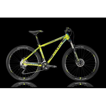 Горный велосипед KELLYS MADMAN 10 2016Горные (MTB)<br>KELLYS MADMAN 10 2016<br>KELLYS MADMAN 10 2016 - яркий горный велосипед с легкой алюминиевой рамой и обордованием спортивного уровня Shimano Alivio.<br><br><br><br><br><br>Общие характеристики<br><br><br>Модель<br>2016 года<br><br><br>Тип<br>для взрослых<br><br><br>Область применения<br>горный (MTB), кросс-кантри<br><br><br>Вес велосипеда<br>14,38 кг<br><br><br>Рама, вилка<br><br><br>Материал рамы<br>алюминиевый сплав<br><br><br>Размеры рамы<br>17, 19, 21<br><br><br>Амортизация<br>Hard tail (с амортизационной вилкой)<br><br><br>Наименование мягкой вилки<br>SR Suntour XCR-LO-R Air 27.5<br><br><br>Конструкция вилки<br>воздушно-масляная<br><br><br>Уровень мягкой вилки<br>спортивный<br><br><br>Ход вилки<br>100 мм<br><br><br>Регулировки вилки<br>жесткости пружины, скорости обратного хода, блокировка хода<br><br><br>Конструкция рулевой колонки<br>полуинтегрированная, безрезьбовая<br><br><br>Размер рулевой колонки<br>1 1/2<br><br><br>Колеса<br><br><br>Диаметр колес<br>27.5 дюймов<br><br><br>Наименование покрышек<br>Schwalbe Rapid Rob 57-584, 27.5x2.25<br><br><br>Наименование ободов<br>KLS MadMax Disc, 584x18<br><br><br>Материал обода<br>алюминиевый сплав<br><br><br>Двойной обод<br>есть<br><br><br>Торможение<br><br><br>Наименование переднего тормоза<br>Shimano BR-M355, 160mm<br><br><br>Тип переднего тормоза<br>дисковый гидравлический<br><br><br>Уровень переднего тормоза<br>спортивный<br><br><br>Наименование заднего тормоза<br>Shimano BR-M355, 160mm<br><br><br>Тип заднего тормоза<br>дисковый гидравлический<br><br><br>Уровень заднего тормоза<br>спортивный<br><br><br>Возможность крепления дискового тормоза<br><br>рама, вилка, втулки<br><br><br>Трансмиссия<br><br><br>Количество скоростей<br>27<br><br><br>Уровень заднего переключателя<br>спортивный<br><br><br>Наименование заднего переключателя<br>Shimano Alivio RD-M4000<br><br><br>Уровень переднего переключателя<br>спортивный<br><br><br>Наименование переднего переключателя<br