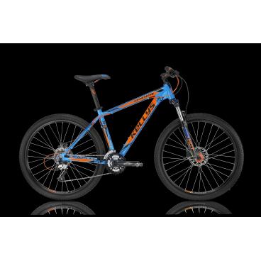 Горный велосипед KELLYS SPIDER 30 2016Горные (MTB)<br>KELLYS SPIDER 30 2016<br>KELLYS SPIDER 30 2016 - горный велосипед с легкой алюминиевой рамой и обордованием прогулочкого уровня Shimano Acera для активного ежидневного катания. Пружинно-масляная амортизационная вилка с ходом 100 мм и возможностью настройки жесткости и блокировки пружины позволит настроить себя под любые условия. Велосипед оснащен трасмиссией на 24 скорости, которая позволит вам подобрать нужную передачу при любых возникших трудостях.<br>Главным отличем от модели KELLYS SPIDER 10 является установленые дисковые гидравлические тормоза ProMax Solve, 160mm <br><br><br><br><br><br>Общие характеристики<br><br><br>Модель<br>2016 года<br><br><br>Тип<br>для взрослых<br><br><br>Область применения<br>горный (MTB), кросс-кантри<br><br><br>Вес велосипеда<br>15,04 кг<br><br><br>Рама, вилка<br><br><br>Материал рамы<br>алюминиевый сплав<br><br><br>Размеры рамы<br>15.5, 17.5, 19.5, 21.5<br><br><br>Амортизация<br>Hard tail (с амортизационной вилкой)<br><br><br>Наименование мягкой вилки<br>SR Suntour XCT-HLO Coil 27.5<br><br><br>Конструкция вилки<br>пружинно-масляная<br><br><br>Уровень мягкой вилки<br>спортивный<br><br><br>Ход вилки<br>100 мм<br><br><br>Регулировки вилки<br>жесткости пружины, блокировка хода<br><br><br>Конструкция рулевой колонки<br>полуинтегрированная, безрезьбовая<br><br><br>Размер рулевой колонки<br>1 1/8<br><br><br>Колеса<br><br><br>Диаметр колес<br>27.5 дюймов<br><br><br>Наименование покрышек<br>KLS Attack 54-584, 27.5x2.1<br><br><br>Наименование ободов<br>KLS Draft Disc, 584x19<br><br><br>Материал обода<br>алюминиевый сплав<br><br><br>Двойной обод<br>есть<br><br><br>Материал бортировочного шнура<br>металл<br><br><br>Торможение<br><br><br>Наименование переднего тормоза<br>ProMax Solve, 160mm<br><br><br>Тип переднего тормоза<br>дисковый гидравлический<br><br><br>Уровень переднего тормоза<br>спортивный<br><br><br>Наименование заднего тормоза<br>ProMax Solve, 160mm<br><br><br>Тип заднего тормоза<b