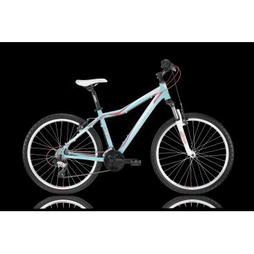 Женский горный велосипед KELLYS VANITY 10 2016Горные (MTB)<br>KELLYS VANITY 10 2016<br>Яркий женский горный велосипед KELLYS VANITY 10 2016, с заниженной рамой для удобной посадки на велосипед. Модель имеет 26 дюймовые колеса, хороший накат, что позволит затрачивать меньше сил, а так же навесное оборудование начального уровня от мирового производителя Shimano.<br><br><br><br><br><br><br>Общие характеристики<br><br><br>Модель<br>2016 года<br><br><br>Тип<br>для взрослых, женская модель<br><br><br>Область применения<br>горный (MTB), кросс-кантри<br><br><br>Вес велосипеда<br>13,70 кг<br><br><br>Рама, вилка<br><br><br>Материал рамы<br>алюминиевый сплав<br><br><br>Размеры рамы<br>15.0, 17.0, 19.0<br><br><br>Амортизация<br>Hard tail (с амортизационной вилкой)<br><br><br>Наименование мягкой вилки<br>SR Suntour M3030 26 Coil<br><br><br>Конструкция вилки<br>пружинно-эластомерная<br><br><br>Уровень мягкой вилки<br>прогулочный<br><br><br>Ход вилки<br>75 мм<br><br><br>Конструкция рулевой колонки<br>полуинтегрированная, безрезьбовая<br><br><br>Размер рулевой колонки<br>1 1/8<br><br><br>Колеса<br><br><br>Диаметр колес<br>26 дюймов<br><br><br>Наименование покрышек<br>Innova 54-559, 26x2.0<br><br><br>Наименование ободов<br>KLS Draft, 559x19<br><br><br>Материал обода<br>алюминиевый сплав<br><br><br>Двойной обод<br>есть<br><br><br>Материал бортировочного шнура<br>металл<br><br><br>Торможение<br><br><br>Наименование переднего тормоза<br>Apse Artek<br><br><br>Тип переднего тормоза<br>V-Brake<br><br><br>Уровень переднего тормоза<br>прогулочный<br><br><br>Наименование заднего тормоза<br>Apse Artek<br><br><br>Тип заднего тормоза<br>V-Brake<br><br><br>Уровень заднего тормоза<br>прогулочный<br><br><br>Возможность крепления дискового тормоза<br><br>рама<br><br><br>Трансмиссия<br><br><br>Количество скоростей<br>21<br><br><br>Уровень заднего переключателя<br>начальный<br><br><br>Наименование заднего переключателя<br>Shimano Tourney RD-TX800<br><br><br>Уровень переднего переключателя<br>начальны