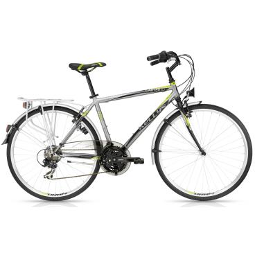 Городской велосипед KELLYS CARTER 10 2016Городские<br>KELLYS CARTER 10 2016<br>Яркий и быстрый велосипед от KELLYS CARTER 10 2016. Интересна модель, своим легким весом, прочным багажником и не плохим навесным оборудованием от Shimano.<br><br><br><br><br><br>Общие характеристики<br><br><br>Модель<br>2016 года<br><br><br>Тип<br>для взрослых<br><br><br>Область применения<br>туринг<br><br><br>Вес велосипеда<br>16,05 кг<br><br><br>Рама, вилка<br><br><br>Материал рамы<br>сталь<br><br><br>Размеры рамы<br>19, 21<br><br><br>Амортизация<br>отсутствует<br><br><br>Конструкция вилки<br>жесткая<br><br><br>Конструкция рулевой колонки<br>полуинтегрированная, резьбовая<br><br><br>Размер рулевой колонки<br>1 1/8<br><br><br>Колеса<br><br><br>Диаметр колес<br>28 дюймов<br><br><br>Наименование покрышек<br>Innova 40-622,700x38c<br><br><br>Наименование ободов<br>KLS Draft, 622x19<br><br><br>Материал обода<br>алюминиевый сплав<br><br><br>Двойной обод<br>есть <br><br><br>Торможение<br><br><br>Наименование переднего тормоза<br>Apse Artek<br><br><br>Тип переднего тормоза<br>V-Brake<br><br><br>Уровень переднего тормоза<br>прогулочный<br><br><br><br>Наименование заднего тормоза<br>Apse Artek<br><br>Тип заднего тормоза<br>V-Brake<br><br><br>Уровень заднего тормоза<br>прогулочный<br><br><br>Трансмиссия<br><br><br>Количество скоростей<br>21<br><br><br>Уровень заднего переключателя<br>начальный<br><br><br>Наименование переднего переключателя<br>Shimano Tourney RD-TX35<br><br><br>Уровень переднего переключателя<br>начальный<br><br><br>Наименование заднего переключателя<br>Shimano Tourney FD-TX51, 31.8mm<br><br><br>Уровень манеток<br>начальные<br><br><br>Наименование манеток<br>Shimano SL-RS35-7 RevoShift<br><br><br>Конструкция манеток<br>вращающаяся ручка<br><br><br>Уровень каретки<br>прогулочные<br><br><br>Наименование каретки<br>Cartridge<br><br><br>Конструкция каретки<br>неинтегрированная<br><br><br>Тип посадочной части вала каретки<br><br>квадрат<br><br><br>Уровень кассеты<br>начальные<br><br><b