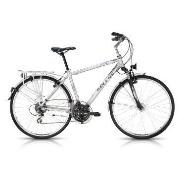 Городской велосипед KELLYS CARTER 50 2016Городские<br>KELLYS CARTER 50 2016<br>Городской велосипед KELLYS CARTER 50 2016 от известного производителя велосипедов Kellys. Данная модель оснащена навесным оборудованием начального уровня, от Shimano. Велосипед отлично подойдет для людей, которые только начинают увлекаться быстрой ездой на велосипеде.<br><br><br><br><br><br>Общие характеристики<br><br><br>Модель<br>2016 года<br><br><br>Тип<br>для взрослых<br><br><br>Область применения<br>туринг<br><br><br>Вес велосипеда<br>16,24 кг<br><br><br>Рама, вилка<br><br><br>Материал рамы<br>алюминиевый сплав<br><br><br>Размеры рамы<br>17, 19, 21, 23<br><br><br>Амортизация<br>Hard tail (с амортизационной вилкой)<br><br><br>Наименование мягкой вилки<br>SR Suntour NEX Coil<br><br><br>Конструкция вилки<br>пружинно-эластомерная <br><br><br>Уровень мягкой вилки<br>прогулочный<br><br><br>Ход вилки<br>63 мм<br><br><br>Регулировки вилки<br>жесткости пружины<br><br><br>Конструкция рулевой колонки<br>полуинтегрированная, резьбовая<br><br><br>Размер рулевой колонки<br>1 1/8<br><br><br>Колеса<br><br><br>Диаметр колес<br>28 дюймов<br><br><br>Наименование покрышек<br>Innova 40-622,700x38c<br><br><br>Наименование ободов<br>KLS Draft, 622x19<br><br><br>Материал обода<br>алюминиевый сплав<br><br><br>Двойной обод<br>есть <br><br><br>Торможение<br><br><br>Наименование переднего тормоза<br>Apse Artek<br><br><br>Тип переднего тормоза<br>V-Brake<br><br><br>Уровень переднего тормоза<br>прогулочный<br><br><br>Наименование заднего тормоза<br>Apse Artek<br><br>Тип заднего тормоза<br>V-Brake<br><br><br>Уровень заднего тормоза<br>прогулочный<br><br><br>Трансмиссия<br><br><br>Количество скоростей<br>24<br><br><br>Уровень заднего переключателя<br>прогулочный<br><br><br>Наименование переднего переключателя<br>Shimano Altus RD-M310<br><br><br>Уровень переднего переключателя<br>начальный<br><br><br>Наименование заднего переключателя<br>Shimano FD-M191, 31.8mm<br><br><br>Уровень манеток<br>прогулочные<br><br><br>На