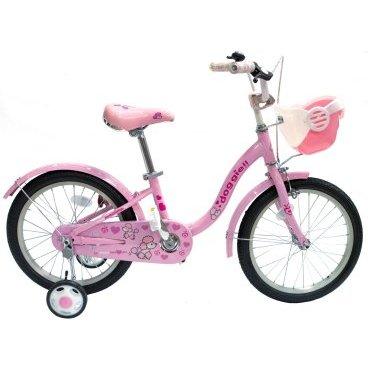 Детский велосипед GRAVITY Doggie 2015Детские<br>GRAVITY Doggie 2015<br>Gravity Doggie, стильный детский велосипед, не оставит не замеченным вашего ребенка, рама выполнена из прочного и легкого алюминиевого сплава, ножной задний и ручной передний тормоз, боковые колеса позволят вашему ребенку научиться быстро кататься на велосипеде, что ускоряет развитие ребенка, полноразмерные крылья защитят от попадания грязи, цепь надежна защищена пластиковой защитой, что обезопасит катание, возможность регулировки руля и седла по высоте.<br><br><br><br><br><br>Общие характеристики<br><br><br>Модель<br>2015 года<br><br><br>Тип<br>детский, для девочек <br><br><br>Возраст ребенка<br>4 - 6 лет (рост до 125 см)<br><br><br>Вес велосипеда<br>11,2 кг<br><br><br>Рама, вилка<br><br><br>Материал рамы<br>алюминиевый сплав<br><br><br>Амортизация<br>отсутствует<br><br><br>Конструкция вилки<br>жесткая<br><br><br>Конструкция рулевой колонки<br>неинтегрированная, резьбовая<br><br><br>Колеса<br><br><br>Диаметр колес<br>18 дюймов<br><br><br>Наименование покрышек<br>WANDA 18x1,95<br><br><br>Наименование ободов<br>HJC, 28 спиц<br><br><br>Материал обода<br>алюминиевый сплав<br><br><br>Двойной обод<br>нет<br><br><br>Материал бортировочного шнура<br>металл<br><br><br>Возможность крепления боковых колес<br>есть<br><br><br>Боковые колеса в комплекте<br>есть<br><br><br>Торможение<br><br><br>Тип переднего тормоза<br>клещевой<br><br><br>Уровень переднего тормоза<br>начальный<br><br><br>Тип заднего тормоза<br>ножной<br><br><br>Уровень заднего тормоза<br>начальный<br><br><br>Трансмиссия<br><br><br>Количество скоростей<br>1<br><br><br>Уровень каретки<br>начальные<br><br><br>Уровень кассеты<br>начальные<br><br><br>Количество звезд в кассете<br>1<br><br><br>Количество звезд системы<br>1<br><br><br>Конструкция педалей<br>классическая<br><br><br>Руль<br><br><br>Конструкция руля<br>изогнутый<br><br><br>Настройка положения руля<br>регулируемый подъем<br><br><br>Дополнительная информация<br><br><br>Звонок<br>есть<br><