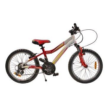 Детский велосипед GRAVITY ELITE 2015Детские<br>GRAVITY ELITE 2015<br>Gravity Elite 20 - это горный (MTB) велосипед удачной кострукции и исполнения. Амортизация достигается за счет мягкой вилки. Стоит отметить, что у вилки начальный уровень и предназначена она именно для такой эксплуатации. Стоит отметить, что вилка пружинно-эластомерная. Этого вполне достаточно, чтобы справляться с поставленной перед ней задачей. У этого велосипеда неинтегрированная, безрезьбовая рулевая колонка. алюминиевый сплав обода хорошо держит форму. Велосипед имеет колеса диаметром 20 дюймов.<br><br><br><br><br><br>Общие характеристики<br><br><br>Модель<br>2015 года<br><br><br>Тип<br>детский<br><br><br>Возраст ребенка<br>6 - 9 лет (рост до 135 см)<br><br><br>Тип<br>горный (MTB)<br><br><br>Вес велосипеда<br>13,9 кг<br><br><br>Рама, вилка<br><br><br>Материал рамы<br>алюминиевый сплав<br><br><br>Размеры рамы<br>15,5<br><br><br>Амортизация<br>Hard tail<br><br><br>Конструкция вилки<br>пружинно-эластомерная <br><br><br>Конструкция рулевой колонки<br>неинтегрированная, безрезьбовая<br><br><br>Колеса<br><br><br>Диаметр колес<br>20 дюймов<br><br><br>Наименование покрышек<br>KENDA K816,20?1.95?<br><br><br>Наименование ободов<br>DINO VN-20<br><br><br>Материал обода<br>алюминиевый сплав<br><br><br>Двойной обод<br>нет<br><br><br>Материал бортировочного шнура<br>металл<br><br><br>Торможение<br><br><br>Тип переднего тормоза<br>V-Brake<br><br><br>Уровень переднего тормоза<br>прогулочный<br><br><br>Тип заднего тормоза<br>V-Brake<br><br><br>Уровень заднего тормоза<br>прогулочный<br><br><br>Трансмиссия<br><br><br>Количество скоростей<br>6<br><br><br>Уровень заднего переключателя<br>начальный<br><br><br>Уровень переднего переключателя<br>начальный<br><br><br>Уровень манеток<br>начальные<br><br><br>Конструкция манеток<br>триггерные двухрычажные<br><br><br>Уровень каретки<br>начальные<br><br><br>Конструкция каретки<br>неинтегрированная<br><br><br>Уровень кассеты<br>начальные<br><br><br>Наименование кассеты<br>FW-