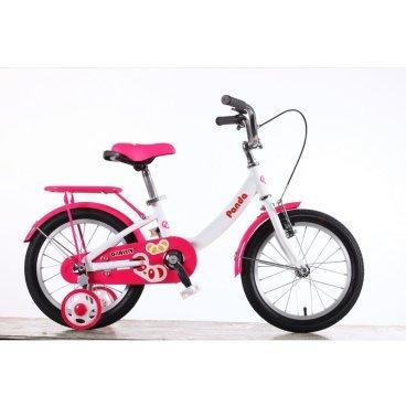 Детский велосипед GRAVITY Panda 2015Детские<br>GRAVITY Panda 2015<br>Яркая и необычная модель детского велосипеда GRAVITY Panda привлекает внимание как детей, так и взрослых. Модель рассчитана для мальчиков и девочек младшего возраста. Главными преимуществами велосипеда является то, что: Высота сиденья и руля регулируются в соответствии росту ребенка. Модель оснащена ручным типом тормозов. Материал рамы значительно уменьшает вес модели и длительность эксплуатации. Передняя вилка позволит ребенку чувствовать себе максимально удобно на дороге с разным состоянием покрытия.<br><br><br><br><br><br>Общие характеристики<br><br><br>Модель<br>2015 года<br><br><br>Тип<br>детский<br><br><br>Возраст ребенка<br>4 - 6 лет, рост до 125 см<br><br><br>Вес велосипеда<br>9.9 кг<br><br><br>Рама, вилка<br><br><br>Материал рамы<br>алюминиевый сплав<br><br><br>Амортизация<br>отсутствует<br><br><br>Конструкция вилки<br>жесткая<br><br><br>Конструкция рулевой колонки<br>неинтегрированная, резьбовая<br><br><br>Колеса<br><br><br>Диаметр колес<br>16 дюймов<br><br><br>Материал обода<br>алюминиевый сплав<br><br><br>Двойной обод<br>нет<br><br><br>Материал бортировочного шнура<br>металл<br><br><br>Возможность крепления боковых колес<br>есть<br><br><br>Боковые колеса в комплекте<br>есть<br><br><br>Торможение<br><br><br>Тип переднего тормоза<br>V-Brake<br><br><br>Уровень переднего тормоза<br>начальный<br><br><br>Тип заднего тормоза<br>ножной<br><br><br>Уровень заднего тормоза<br>начальный<br><br><br>Трансмиссия<br><br><br>Количество скоростей<br>1<br><br><br>Уровень каретки<br>начальные<br><br><br>Конструкция каретки<br>неинтегрированная<br><br><br>Уровень кассеты<br>начальные<br><br><br>Количество звезд в кассете<br>1<br><br><br>Количество звезд системы<br>1<br><br><br>Конструкция педалей<br>классическая<br><br><br>Руль<br><br><br>Настройка положения руля<br>регулируемый подъем<br><br><br>Дополнительная информация<br><br><br>Звонок<br>есть<br><br><br>Защитная цепи<br>есть<br><br><br>Комплектация<br>
