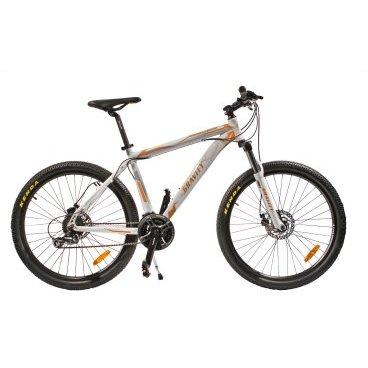 Горный велосипед GRAVITY CANYON 2015Горные (MTB)<br>GRAVITY CANYON 2015<br><br>GRAVITY CANYON - комфортный горный велосипед начального уровня. Велосипед оснащен оборудованием известной фирмы Simano, надежными дисковыми механическими тормозами, амортизационной вилкой с ходом 100 мм. <br><br><br><br><br><br>Общие характеристики<br><br><br>Модель<br>2015 года<br><br><br>Тип<br>для взрослых<br><br><br>Область применения<br>горный (MTB), кросс-кантри<br><br><br>Рама, вилка<br><br><br>Материал рамы<br>алюминиевый сплав<br><br><br>Размеры рамы<br>19.0<br><br><br>Амортизация<br>Hard tail (с амортизационной вилкой)<br><br><br>Наименование мягкой вилки<br>Zoom 525AMS<br><br><br>Конструкция вилки<br>пружинно-эластомерная<br><br><br>Уровень мягкой вилки<br>прогулочный<br><br><br>Ход вилки<br>100 мм<br><br><br>Регулировки вилки<br>жесткости пружины, блокировка хода<br><br><br>Конструкция рулевой колонки<br>безрезьбовая<br><br><br>Колеса<br><br><br>Диаметр колес<br>26 дюймов<br><br><br>Наименование покрышек<br>Kenda K1153, 26x2.1<br><br><br>Наименование ободов<br>26x1.75<br><br><br>Материал обода<br>алюминиевый сплав<br><br><br>Двойной обод<br>есть<br><br><br>Материал бортировочного шнура<br>металл<br><br><br>Торможение<br><br><br>Наименование переднего тормоза<br>Shimano Tourney BR-TX805, 160mm<br><br><br>Тип переднего тормоза<br>дисковый механический<br><br><br>Уровень переднего тормоза<br>прогулочный<br><br><br>Наименование заднего тормоза<br>Shimano Tourney BR-TX805, 160mm<br><br><br>Тип заднего тормоза<br>дисковый механический<br><br><br>Уровень заднего тормоза<br>прогулочный<br><br><br>Возможность крепления дискового тормоза<br><br>рама, вилка, втулки<br><br><br>Трансмиссия<br><br><br>Количество скоростей<br>24<br><br><br>Уровень заднего переключателя<br>прогулочный<br><br><br>Наименование заднего переключателя<br>Shimano Acera RD-M360<br><br><br>Уровень переднего переключателя<br>начальный<br><br><br>Наименование переднего переключателя<br>Shimano FD-M190<br><br><br>Уровен