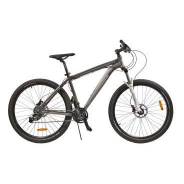 Горный велосипед GRAVITY TWISTER 2015Горные (MTB)<br>GRAVITY TWISTER 2015<br><br>GRAVITY TWISTER - комфортный горный велосипед с колесами нового стандарата 27.5. Велосипед оснащен оборудованием прогулочного уровня фирмы SRAM, надежными дисковыми гидравлический тормозами спортивного уровня, амортизационной вилкой с возможностью регулировки жесткости пружины и её блокировки.<br><br><br><br><br><br>Общие характеристики<br><br><br>Модель<br>2015 года<br><br><br>Тип<br>для взрослых<br><br><br>Область применения<br>горный (MTB), кросс-кантри<br><br><br>Вес велосипеда<br>14.3 кг<br><br><br>Рама, вилка<br><br><br>Материал рамы<br>алюминиевый сплав<br><br><br>Размеры рамы<br>19.0<br><br><br>Амортизация<br>Hard tail (с амортизационной вилкой)<br><br><br>Наименование мягкой вилки<br>Zoom 595 HL<br><br><br>Конструкция вилки<br>пружинно-масляная <br><br><br>Уровень мягкой вилки<br>спортивный<br><br><br>Регулировки вилки<br>жесткости пружины, блокировка хода<br><br><br>Конструкция рулевой колонки<br>безрезьбовая<br><br><br>Колеса<br><br><br>Диаметр колес<br>27.5 дюймов<br><br><br>Наименование покрышек<br>Kenda K1047, 27.5x2.10<br><br><br>Наименование ободов<br>27.5x1.75<br><br><br>Материал обода<br>алюминиевый сплав<br><br><br>Двойной обод<br>есть<br><br><br>Материал бортировочного шнура<br>металл<br><br><br>Торможение<br><br><br>Наименование переднего тормоза<br>Avid DB1, 160mm<br><br><br>Тип переднего тормоза<br>дисковый гидравлический<br><br><br>Уровень переднего тормоза<br>спортивный<br><br><br>Наименование заднего тормоза<br>Avid DB1, 160mm<br><br><br>Тип заднего тормоза<br>дисковый гидравлический<br><br><br>Уровень заднего тормоза<br>спортивный<br><br><br>Возможность крепления дискового тормоза<br><br>рама, вилка, втулки<br><br><br>Трансмиссия<br><br><br>Количество скоростей<br>24<br><br><br>Уровень заднего переключателя<br>прогулочный<br><br><br>Наименование заднего переключателя<br>SRAM X.4<br><br><br>Уровень переднего переключателя<br>прогулочный<br><br><br>Наименование 
