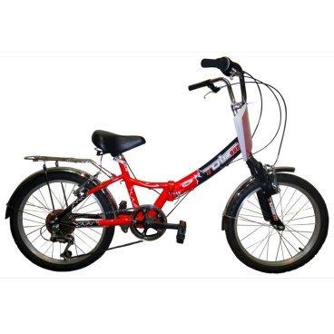Складной велосипед TOTEM SF-276A suspCкладные<br>TOTEM SF-276A susp<br>TOTEM SF-276A susp - складной велосипед начального уровня с установленым оборудованием известной фирмы Shimano, в полной комплектации. <br><br><br><br><br><br>Общие характеристики<br><br><br>Тип<br>подростковый<br><br><br>Возраст ребенка<br>6 - 9 лет, рост до 135 см<br><br><br>Область применения<br>городской<br><br><br>Рама, вилка<br><br><br>Складной<br>да<br><br><br>Материал рамы<br>алюминиевый сплав <br><br><br>Амортизация<br>Hard tail<br><br><br>Конструкция вилки<br>жесткая<br><br><br>Конструкция рулевой колонки<br>неинтегрированная, резьбовая <br><br><br>Колеса<br><br><br>Диаметр колес<br>20 дюймов<br><br><br>Наименование покрышек<br>20х1.95<br><br><br>Наименование ободов<br>20x1.75<br><br><br>Материал обода<br>алюминиевый сплав<br><br><br>Двойной обод<br>нет<br><br><br>Материал бортировочного шнура<br>металл<br><br><br>Торможение<br><br><br>Тип переднего тормоза<br>клещевой<br><br><br>Уровень переднего тормоза<br>начальный<br><br><br>Тип заднего тормоза<br>клещевой<br><br><br>Уровень заднего тормоза<br>начальный<br><br><br>Трансмиссия<br><br><br>Количество скоростей<br>6<br><br><br>Уровень заднего переключателя<br>начальный<br><br><br>Наименование заднего переключателя<br>Shimano Tourney RD-TY18GS<br><br><br>Уровень манеток<br>начальные<br><br><br>Наименование манеток<br>SL-KDSG-03<br><br><br>Конструкция манеток<br>вращающаяся ручка<br><br><br>Каретки<br>начальные<br><br><br>Конструкция каретки<br>неинтегрированная<br><br><br>Тип посадочной части вала каретки<br>квадрат<br><br><br>Наименование кассеты<br>начальные<br><br><br>Количество звезд в кассете<br>6<br><br><br>Количество звезд системы<br>1<br><br><br>Конструкция педалей<br>классическая<br><br><br>Руль<br><br><br>Конструкция руля<br>изогнутый<br><br><br>Настройка положения руля<br>регулируемый подъем<br><br><br>Седло<br><br><br>Материал седла<br>искусственная кожа<br><br><br>Материал рамки седла<br>сталь<br><br><br>Комфорт<br>подпружин
