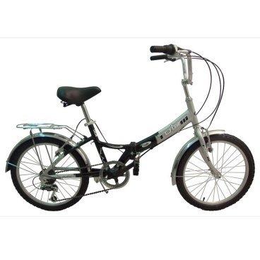 Складной велосипед TOTEM SF-276ACкладные<br>TOTEM SF-276A<br>TOTEM SF-276A - складной велосипед начального уровня с установленым оборудованием известной фирмы Shimano, в полной комплектации. <br><br><br><br><br><br>Общие характеристики<br><br><br>Тип<br>подростковый<br><br><br>Возраст ребенка<br>6 - 9 лет, рост до 135 см<br><br><br>Область применения<br>городской<br><br><br>Рама, вилка<br><br><br>Складной<br>да<br><br><br>Материал рамы<br>алюминиевый сплав <br><br><br>Амортизация<br>отсутствует<br><br><br>Конструкция вилки<br>жесткая<br><br><br>Конструкция рулевой колонки<br>неинтегрированная, резьбовая <br><br><br>Колеса<br><br><br>Диаметр колес<br>20 дюймов<br><br><br>Наименование покрышек<br>20х1.95<br><br><br>Наименование ободов<br>20x1.75<br><br><br>Материал обода<br>алюминиевый сплав<br><br><br>Двойной обод<br>нет<br><br><br>Материал бортировочного шнура<br>металл<br><br><br>Торможение<br><br><br>Тип переднего тормоза<br>клещевой<br><br><br>Уровень переднего тормоза<br>начальный<br><br><br>Тип заднего тормоза<br>клещевой<br><br><br>Уровень заднего тормоза<br>начальный<br><br><br>Трансмиссия<br><br><br>Количество скоростей<br>6<br><br><br>Уровень заднего переключателя<br>начальный<br><br><br>Наименование заднего переключателя<br>SHIMANO RD-TY18GS<br><br><br>Уровень манеток<br>начальные<br><br><br>Наименование манеток<br>SL-KDSG-03<br><br><br>Конструкция манеток<br>вращающаяся ручка<br><br><br>Каретки<br>начальные<br><br><br>Конструкция каретки<br>неинтегрированная<br><br><br>Тип посадочной части вала каретки<br>квадрат<br><br><br>Наименование кассеты<br>начальные<br><br><br>Количество звезд в кассете<br>6<br><br><br>Количество звезд системы<br>1<br><br><br>Конструкция педалей<br>классическая<br><br><br>Руль<br><br><br>Конструкция руля<br>изогнутый<br><br><br>Настройка положения руля<br>регулируемый подъем<br><br><br>Седло<br><br><br>Материал седла<br>пластик<br><br><br>Материал рамки седла<br>сталь<br><br><br>Комфорт<br>подпружиненное седло<br><br><br>Дополните