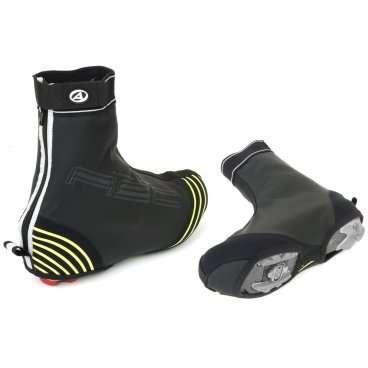 Защита обуви AUTHOR H2O-PROOF черная с неоновыми светоотраж. вставками р-р 45-46 (5) 8-7202072Велообувь<br>Защита обуви , велобахилы AUTHOR H2O-PROOF <br>Цвет: черный с неоновыми светоотражающими вставками<br>Размер: XL (45-46) (5)<br>Артикул: 8-7202072<br>