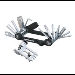 Набор Topeak Mini 20 Pro, с чехлом, черный, TT2536BВелоинструменты<br>Универсальный, многофункциональный набор инструментов, который всегда будет у вас под рукой. 20 наиболее необходимых функций, включая торксы T10 и T25. Компактный набор включает универсальную выжимку для цепи, совместимую с широкими и узкими цепями.<br>